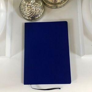 "Electric blue journal 6""x8"" - plain pages"